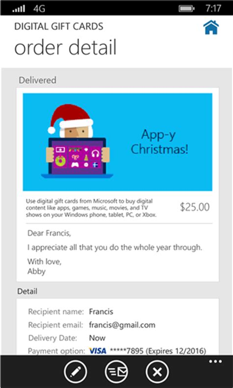 Microsoft Digital Gift Card Xbox - microsoft releases digital gift card for the xbox store in time for the holidays