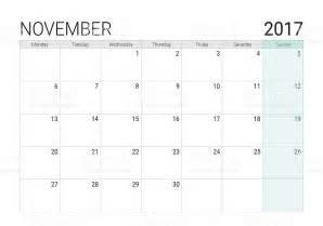 Calendar Template November 2017 Editable November 2017 Calendar Organizer Printable Editable