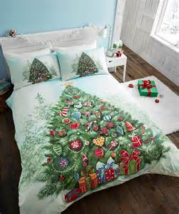 Childrens Double Duvets Kids Christmas Bedding Duvet Cover Bright Colourful