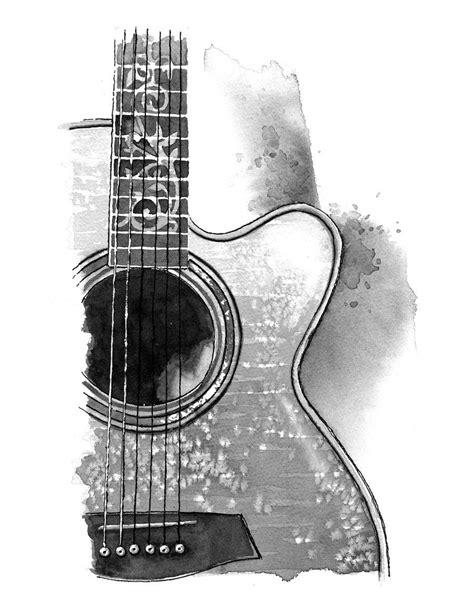acoustic guitar tattoo 193 lbum de im 225 genes para la inspiraci 243 n in 2018 artistic