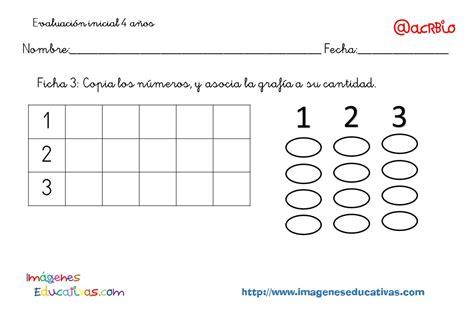 imagenes educativas material fotocopiable 5 años evaluaci 243 n inicila 4 a 241 os ie original 4 imagenes