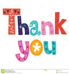 thank you card stock vector image 44448929