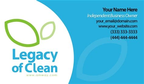 legacy of clean bathroom cleaner legacy of clean business card design 1