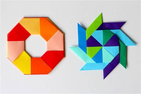 Simple Origami Shapes - 15 easy origami patterns for