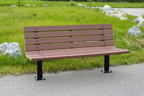 picture of a park bench series ar benches custom park leisure