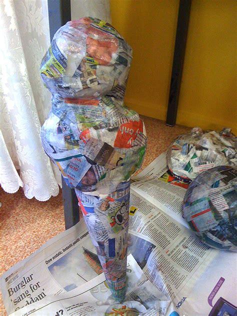 How To Make Paper Mache Food - papier mache food sculptures adelle
