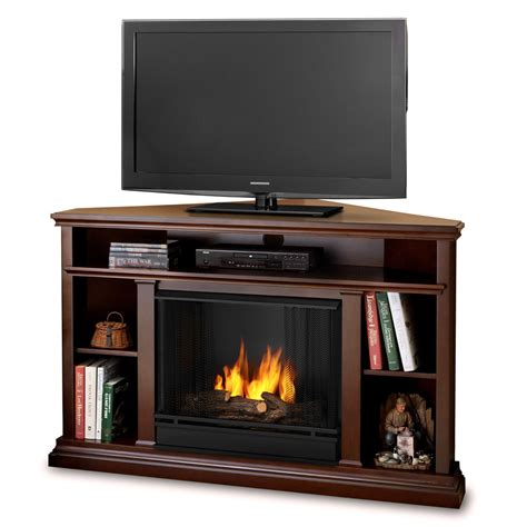 50 75 quot churchhill espresso entertainment center corner gel