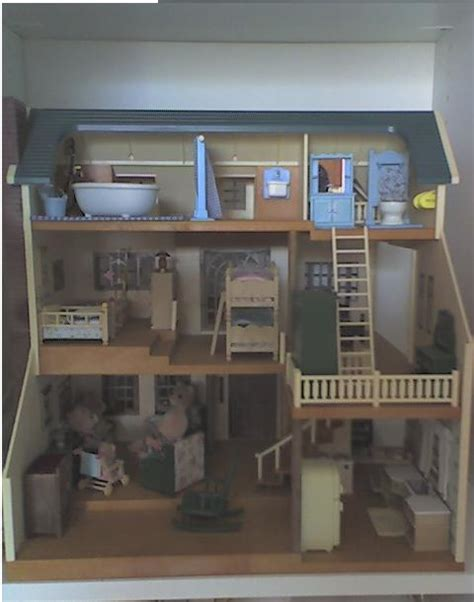 critter doll house calico critters wallpaper template wallpapersafari