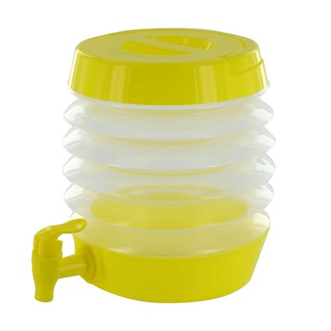Water Dispenser With Tap collapsible folding water dispenser portable drinks container cing with tap ebay