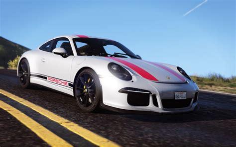 Porsche Z Antrag by Gta 5 2017 Porsche 911 R Gt3 Tuning Uq Mod