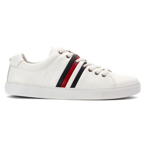 white hilfiger shoes lyst hilfiger milo2 in white for