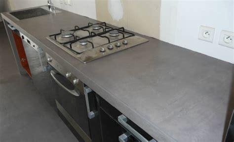 Charmant Recouvrir Carrelage Plan De Travail Cuisine #2: peinture-a-effet-beton-cire.jpg