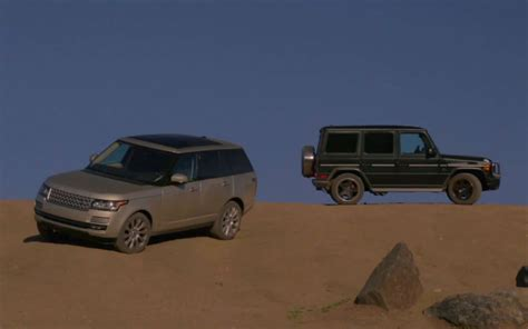 mercedes land rover range rover mercedes g63 amg hit the dirt in head 2 head