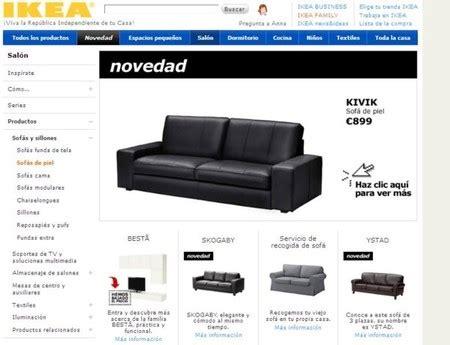 ikea sofa piel rebajas de invierno 2012 buscando un sof 225 de piel en la red