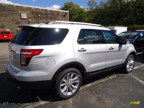 Ford Explorer Xlt 2013 by Ingot Silver Metallic 2013 Ford Explorer Xlt 4wd Exterior