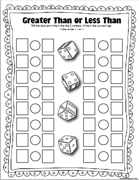printable addition dice games free dice games the lesson plan diva