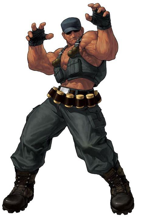 imagenes animadas kof clark still king of fighters