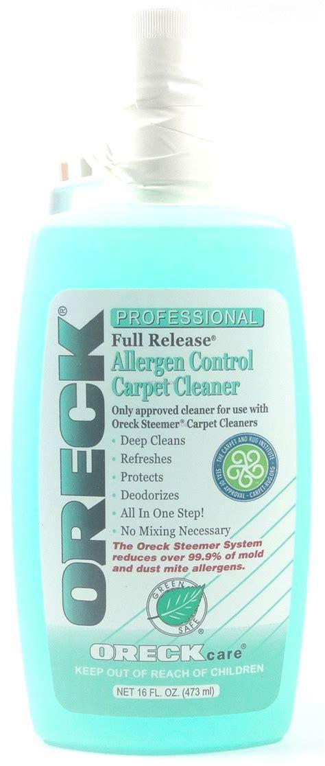 Rug Cleaner Solution by Oreck Release Allergen Carpet Cleaner Solution