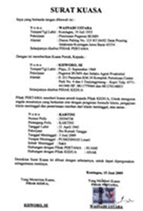contoh surat kuasa pengambilan bpkb motor car interior