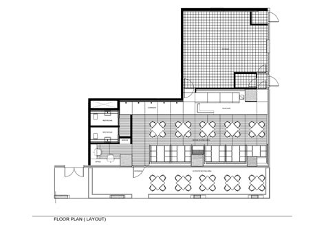 Resturant Floor Plan Gallery Of Tatami Japanese Restaurant Jassim Alshehab 13