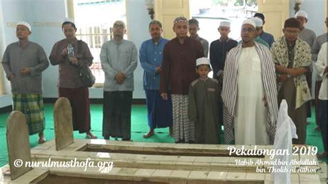 kunjungi pekalongan habib hasan ziarah  makam habib ahmad al atthos