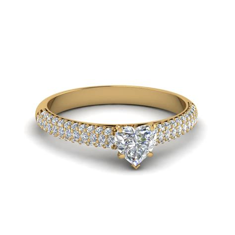 Shaped Engagement Rings by Shaped Ring Milgrain Style In 14k White Gold