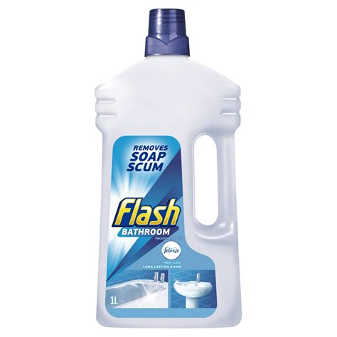 cleaning products for bathroom flash bathroom all purpose cleaner 1l at wilko com