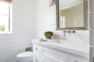Walls With Shiplap Guest Bathroom With Shiplap