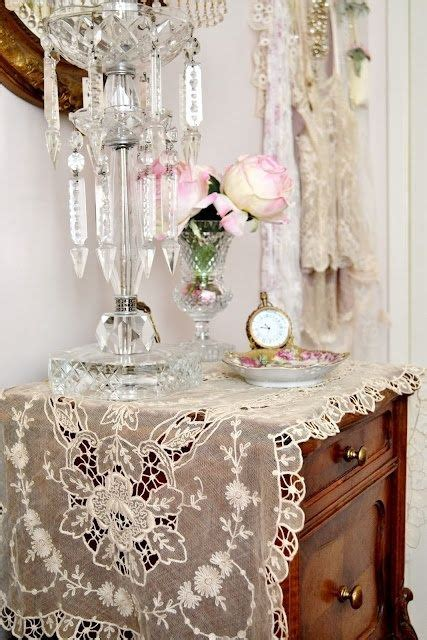 Shabby Chic 836 by 836 Best Images About Lace And Linens On Lace