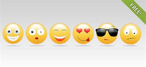 smiley faces vector characters