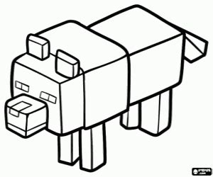 minecraft coloring pages printable games