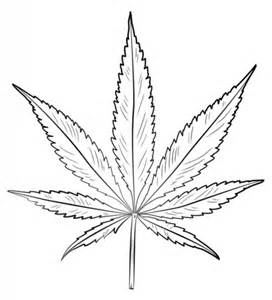 pot leaf coloring page free printable coloring pages