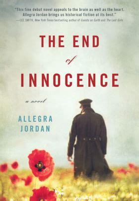 Innocence A Novel the end of innocence a novel by allegra paperback