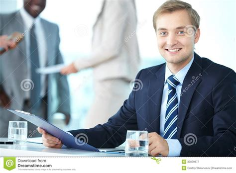 Chief Administrative Officer by Chief Executive Officer Royalty Free Stock Photography
