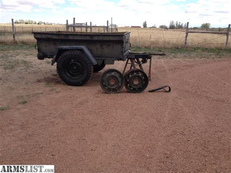 jeep trailer for sale armslist for sale jeep trailer army utility
