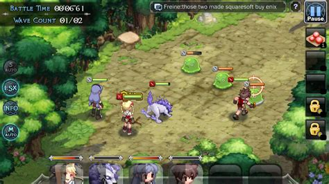 mobile rpgs brave brigade summoner for android 2018