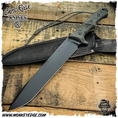 chris reeve green beret 7 monkey edge chris reeve knives green beret knife 7 inch