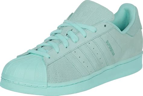 Turquoise Shoes by Adidas Superstar Rt Shoes Turquoise