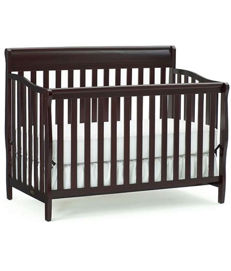 Graco Stanton Convertible Crib Graco Stanton 4 In 1 Convertible Fixed Side Classic Crib Espresso Theshopville Baby