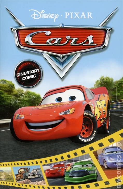 disney pixar cars the books of cars 2009 update take five a day disney pixar cars comic books issue 1