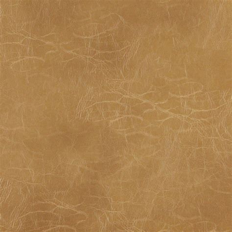 Camel Distressed Upholstery Recycled Leather By The Yard