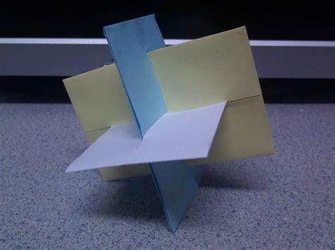 Xyz Origami - origami xyz planes by theorigamiarchitect on deviantart