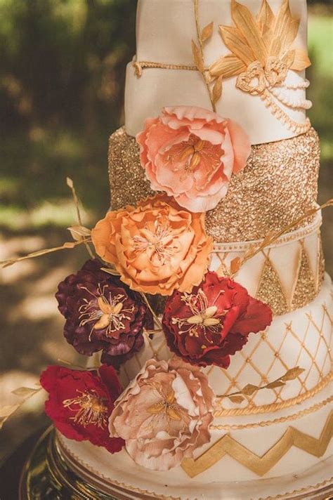 Fall Wedding Cakes by Spectacular Fall Wedding Cake Ideas Modwedding