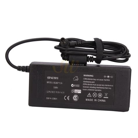 sony vaio laptop charger pc world ac adapter battery charger for sony pcg 71914l pcg grs175