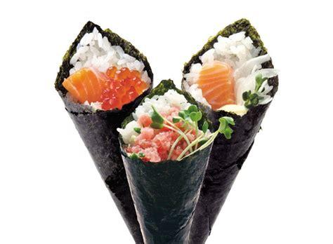 Cetakan Sushi Roll Cone temaki how to make sushi