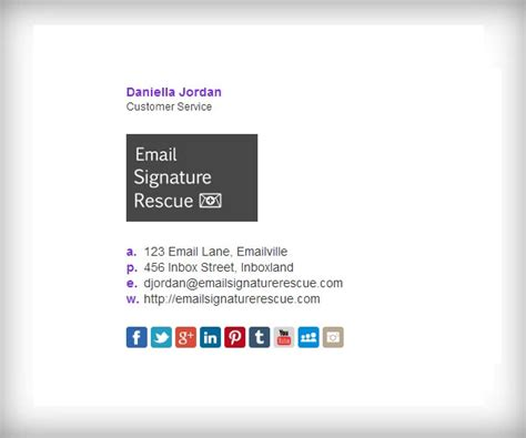 template for email signature 141 best email signature templates images on