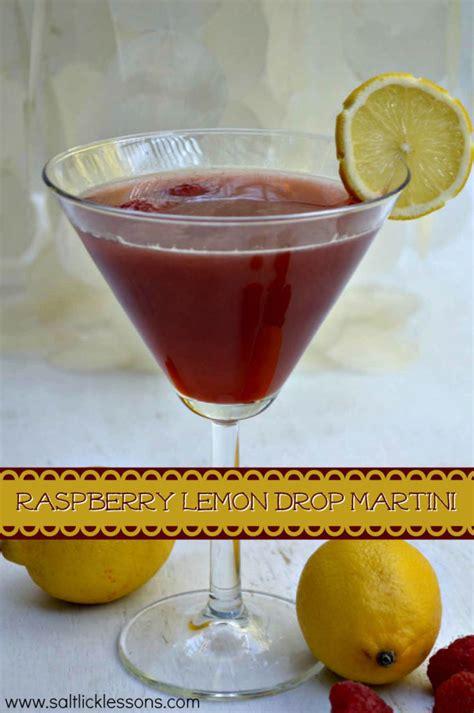 raspberry lemon drop raspberry lemonade martini recipe