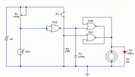 free electronic circuits light detector circuit