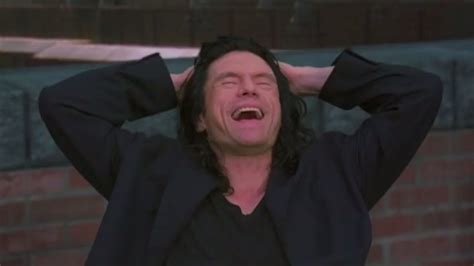 The Room this is what wiseau wanted to say on stage at the