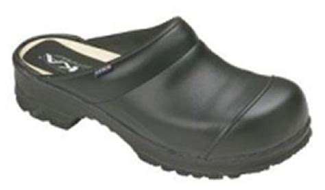 steel toe clogs for chef steel toe shoes birchwood open back clogs wooden